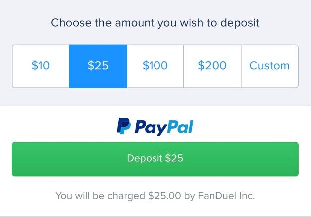 Depositing at online sportsbooks